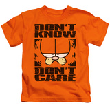 Juvenile: Garfield - Don't Know Don't Care T-shirts