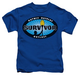 Juvenile: Survivor - Blue Burst Shirts