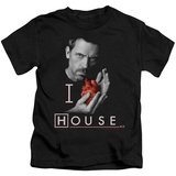 Youth: House - I Heart House T-shirts