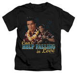 Juvenile: Elvis Presley - Can't Help Falling T-shirts