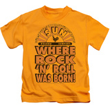 Youth: Sun Records - Where Rock Was Born T-shirts