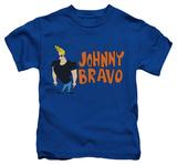 Juvenile: Johnny Bravo - Johnny Logo T-Shirt