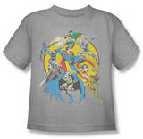 Youth: Justice League - Spin Circle Fight T-Shirt