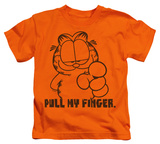 Juvenile: Garfield - Pull My Finger T-shirts