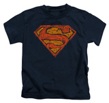 Youth: Superman - Messy S T-Shirt