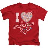 Juvenile: Smarties - I Heart Smarties Shirts