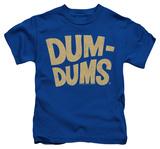 Juvenile: Dum Dums - Distressed Logo Shirts