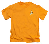 Juvenile: Star Trek - Command Uniform T-Shirt