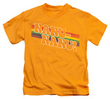 Juvenile: Mork & Mindy - Nanu Rainbow T-shirts
