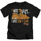 Juvenile: Garfield - Not Lazy T-shirts