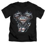 Youth: Superman - V Twin Logo T-shirts