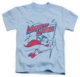 Juvenile: Mighty Mouse - Mighty Flag T-Shirt