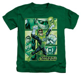 Juvenile: Green Lantern - Green Lantern Panels T-Shirt