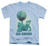 Juvenile: Gumby - Go Green Shirts