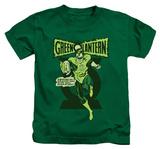 Juvenile: Green Lantern - Retro Oath T-shirts