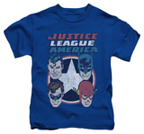 Juvenile: Justice League - 4 Stars T-shirts