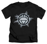 Juvenile: Green Lantern - White Glow T-shirts