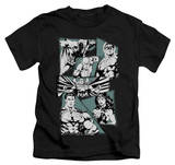 Juvenile: Justice League - A Mighty League T-shirts
