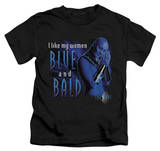 Juvenile: Farscape - Blue And Bald T-Shirt