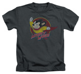 Juvenile: Mighty Mouse - Mighty Circle T-shirts