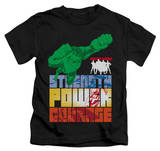 Juvenile: Justice League - Heroic Qualities T-shirts