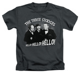 Juvenile: The Three Stooges - Hello Again T-Shirt