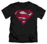 Youth: Superman - War Torn Shield Shirt
