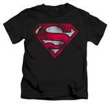 Youth: Superman - War Torn Shield Shirt