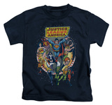 Juvenile: Justice League - Star Group T-Shirt