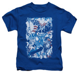 Juvenile: Justice League - American Justice T-shirts