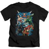 Juvenile: Justice League - JLA Assemble Shirts