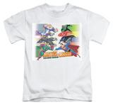 Juvenile: Justice League - Evildoers Beware T-shirts
