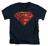 Juvenile: Superman - Rusted Shield T-shirts