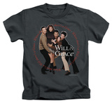 Youth: Will & Grace - Where Theres A Will T-shirts