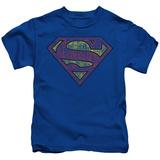 Juvenile: Superman - Tattered Shield T-shirts