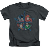 Youth: Justice League - Four Heroes Shirt