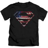 Juvenile: Superman - Super Patriot T-shirts