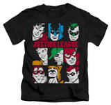 Juvenile: Justice League - Nine Blocks Of Justice T-shirts