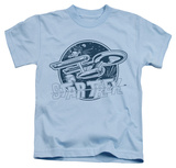 Juvenile: Star Trek - Retro Enterprise Shirts