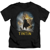 Youth: The Adventures of Tintin - Poster T-Shirt