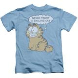 Juvenile: Garfield - Smiling Cat T-shirts
