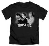 Juvenile: The Three Stooges - Trust Us T-shirts