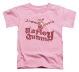 Toddler: Batman - Harley Hop Vintage T-shirts
