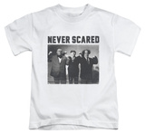 Juvenile: The Three Stooges - Never Scared T-shirts