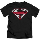 Juvenile: Superman - English Shield T-shirts