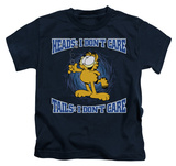 Youth: Garfield - Heads Or Tails Shirts