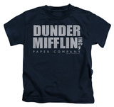 Youth: The Office - Dunder Mifflin Distressed Shirts