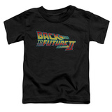 Toddler: Back To The Future II - Logo Shirt
