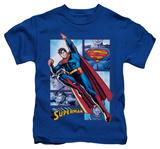Juvenile: Superman - Superman Panels T-shirts