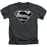 Youth: Superman - Super Metallic Shield T-Shirt